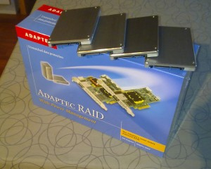 Adaptec 5405 + 4xPB22-J 128GB