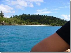 Hook Island resort näkyvissä