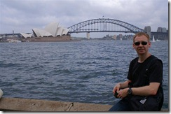 Juha ja Sydneyn satama