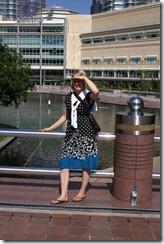 Minna Petronas tornien takana olevassa puistossa