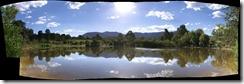 Panoraama Black Flats dam