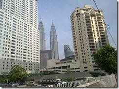 Petronas Twin towers hotellilta katsottuna