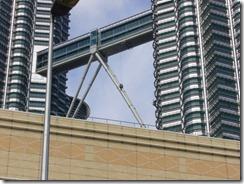 Petronas Twin towersin pesijä kaukaa