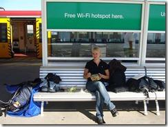 Täydentävä lounastauko Brisbanen lentokentällä