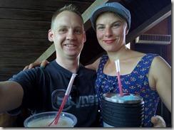 Ekat drinksut Bahamalla