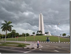 Uhkaavan näköinen taivas Jose Martinin merkillä